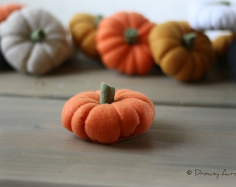 Felt Pumpkin Decor