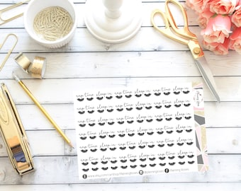 Nap Time Lashes Stickers