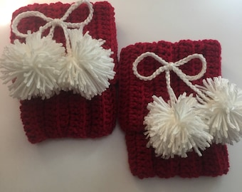 Holiday Boot Cuffs