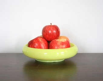 Vintage Lime Green Bowl/Planter