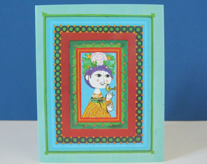 Bjorn Wiinblad Vintage Greetings card