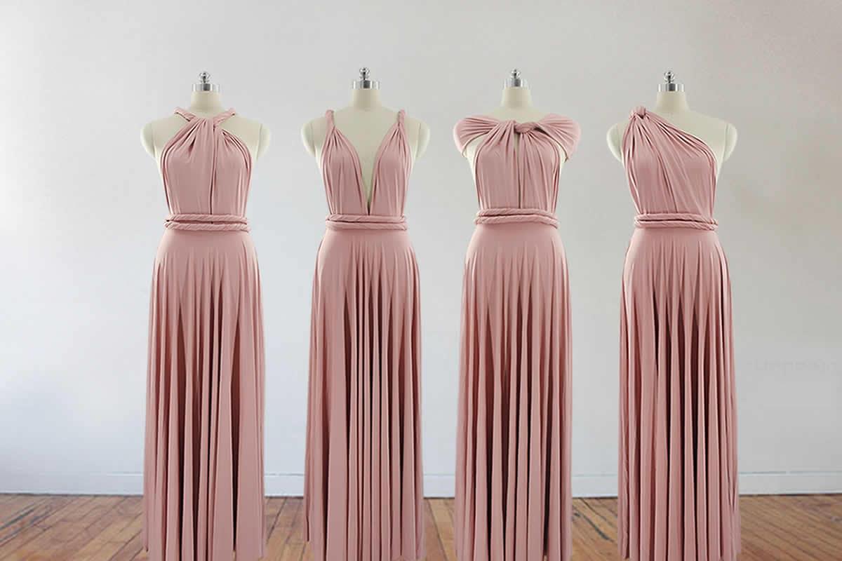 Blush pink bridesmaid dress long bridesmaid dress bridesmaids zoom ombrellifo Image collections