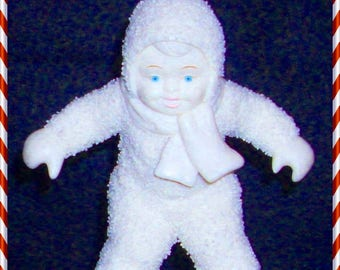 """Department 56 SNOWBABIES """"Skate With Me"""" MINT Condition RETIRED"""