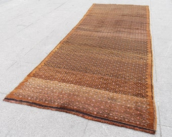 Runner rug, oushak turkish, runner rug, decor runner turkish rug, 507