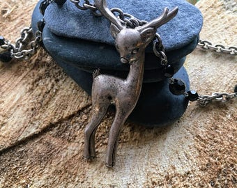 Unique Darling Deer Necklace
