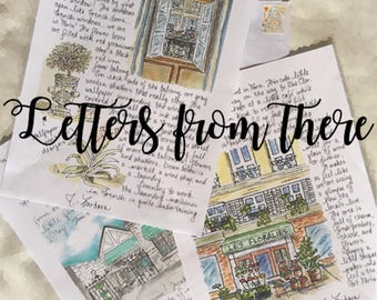Letters from There:  One letter