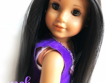 EXAMPLE Dark-Haired Beauty OOAK Custom Doll - Made to Order