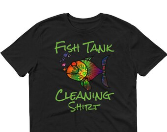 Aquarium Fish Tank Cleaning T-Shirt