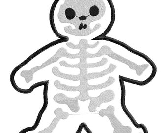 Skelly Gingy Applique Only