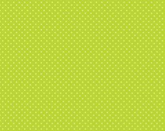 Swiss Dots - C670-32 Lime