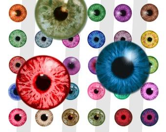 25mm Digital Download Dragon Eyes.