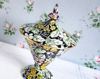Vintage Candy Dish in Chintz China