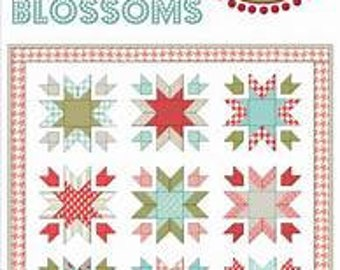 2 for PRICE of 1 - Snow Blossoms & Hugs and Kisses patterns ~ Lella Boutique ~ Paper Quilt Pattern