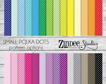 Small Polka Dots Pattern Vinyl HEAT TRANSFER or ADHESIVE, printed vinyl printed HTv printed adhesive vinyl permanent