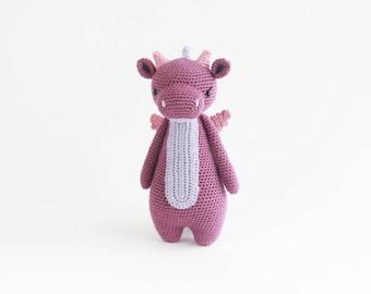 Dragon Crochet Amigurumi Pattern