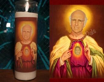 Saint Larry David Prayer Candle / Curb Your Enthusiasm