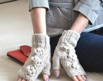 unique fingerless gloves clothing gift|for|women hand knit gloves arm warmers fingerless mittens wool gloves Wrist warmers mom gifts