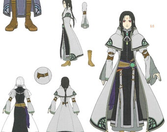 Final payment for Fire Emblem Radiant Dawn Soren robes