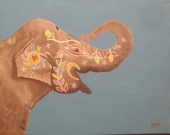 Painted Pachyderm