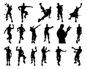 Fortnite Dance Silhouette Free   Fortnite Battle Royale ...
