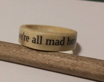 Paper Message Ring
