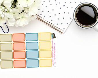 Planner Stickers|Winter Gnome Half Box Stickers| Gnome Planner Stickers|Gnome Half Box Planner Stickers|GN002