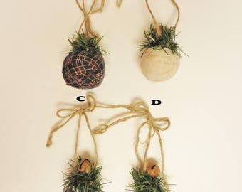 Rag Ball Ornament, Rag Balls, Christmas Decorations, Primitive Ornaments, Tree Ornaments