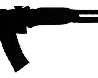 AK-47 Embroidery File