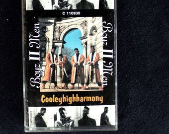 Boyz 2 Men Cooleyhighharmony 1991 Cassette Tape