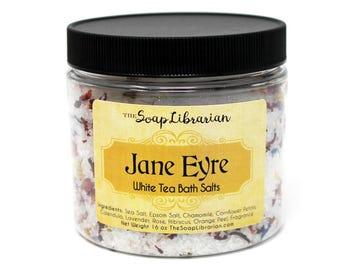Jane Eyre Bath Salts - White Tea