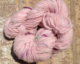 Corrie, My Pet - 13% off - OOAK handspun art yarn 100 yards 41g 1.4 oz.