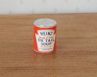 Dolls House Miniature Tin of Heinz Oxtail Soup