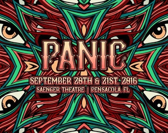PANIC | 09.20 & 09.21, 2016 | Pensacola, FL |
