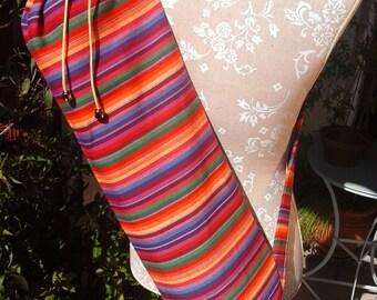 Yoga Mat Bag in ethnic style!