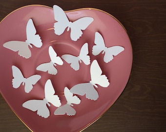Shimmer Butterfly die cuts/ butterfly table confetti/ shimmer butterflies/ Shimmer/ gold