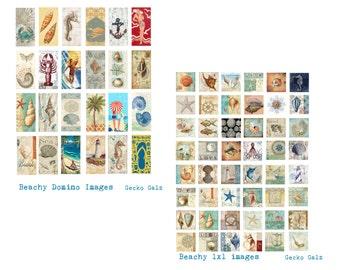 Beachy Jewels Collage Set
