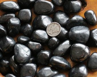 Shungite Medium Tumbled Stone