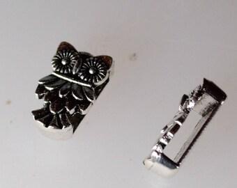4 beads passing OWL bracelet