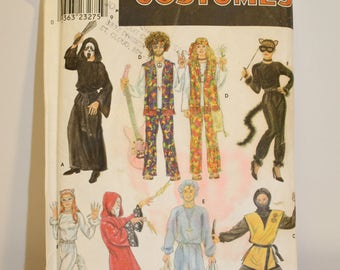Simplicity costume pattern 8871  Wide variety of adult costumes