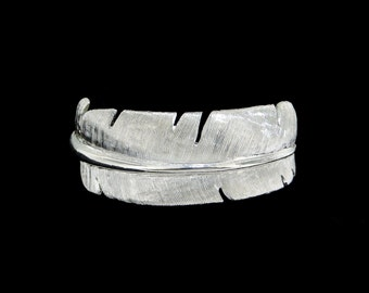 Sterling Silver Eagle Feather Ring