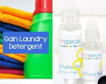 Gain Laundry Detergent Perfume Roll On, Gain Perfume, Smells Like Gain, Clean Fresh Scent, Gain Perfume, Gain Fragrance, Gain Scent