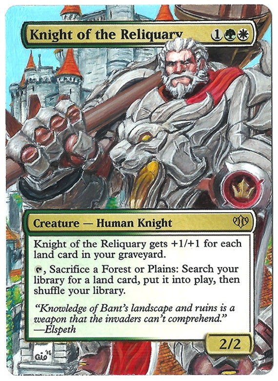 knight reliquary altered