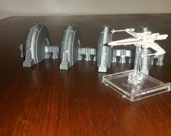 Shied Generator from Hoth for Star Wars X-Wing Miniature Terrain, 3D printed