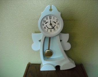 Clock Childrens Pendulum Clock Blue
