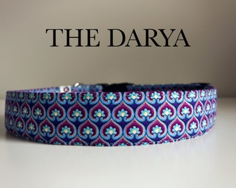 The Darya, Modern Metallic Scallop Collar