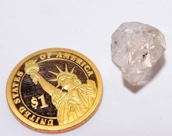 Herkimer Diamond Rough Gemstone, Beautiful Herkimer Diamond Rough Fancy shape Jewellery Making loose Gemscentre AS-274