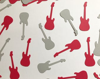Guitar Confetti | Table Scatter | Table Confetti | 100 Pieces | 2 1/4 Inches