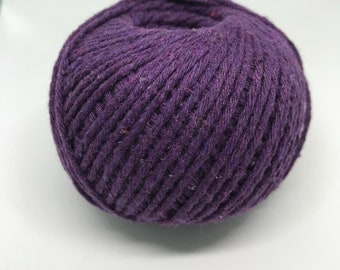 Natural Cotton Cord, Purple Yarn Embroidery Supplies, Crochet Cotton Yarn, Cotton Rope, Chinese Cotton Yarn, Craft Yarn, Macrame Cotton Cord
