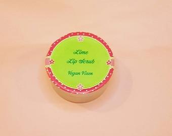 Vegan Vixen Lime Lip Scrub