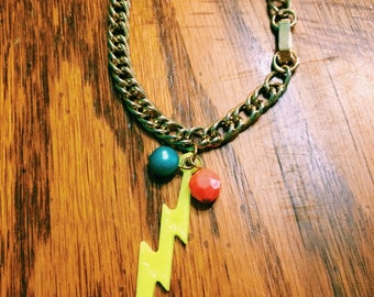 OKC Thunder Lightening bracelet